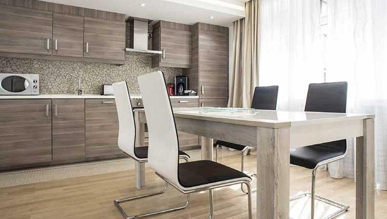 Kitchen at Gemma Apartment - Citybase Apartments