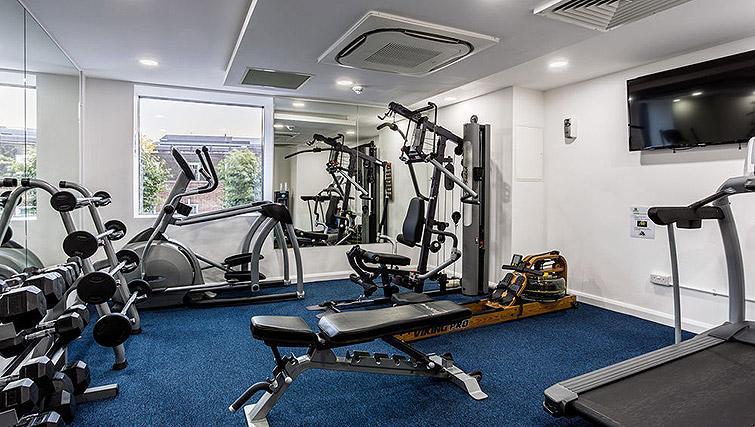 Gym at Watford Junction Apartments - Citybase Apartments