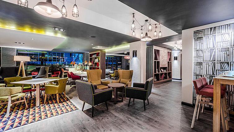 Lobby area at Watford Junction Apartments - Citybase Apartments