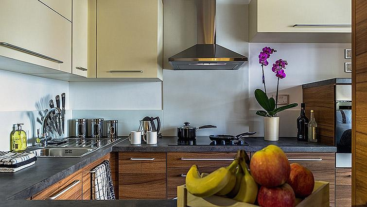 Well equipped kitchen at Watford Junction Apartments - Citybase Apartments