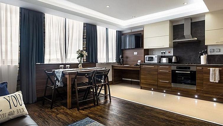 Kitchen at Watford Junction Apartments - Citybase Apartments