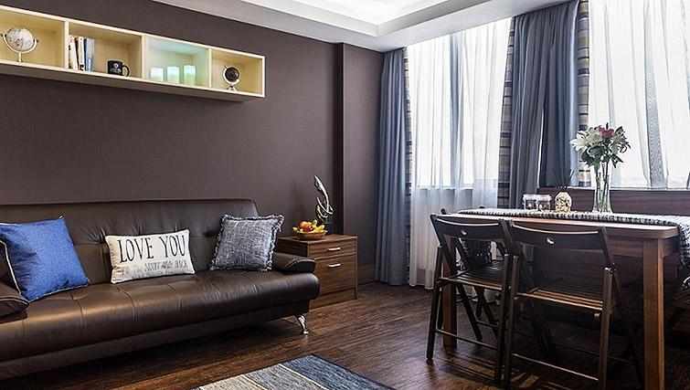 Living area at Watford Junction Apartments - Citybase Apartments