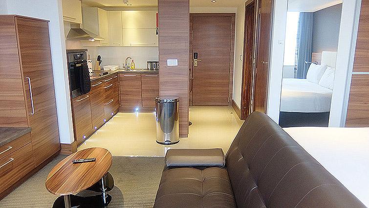 Living room at Watford Junction Apartments - Citybase Apartments