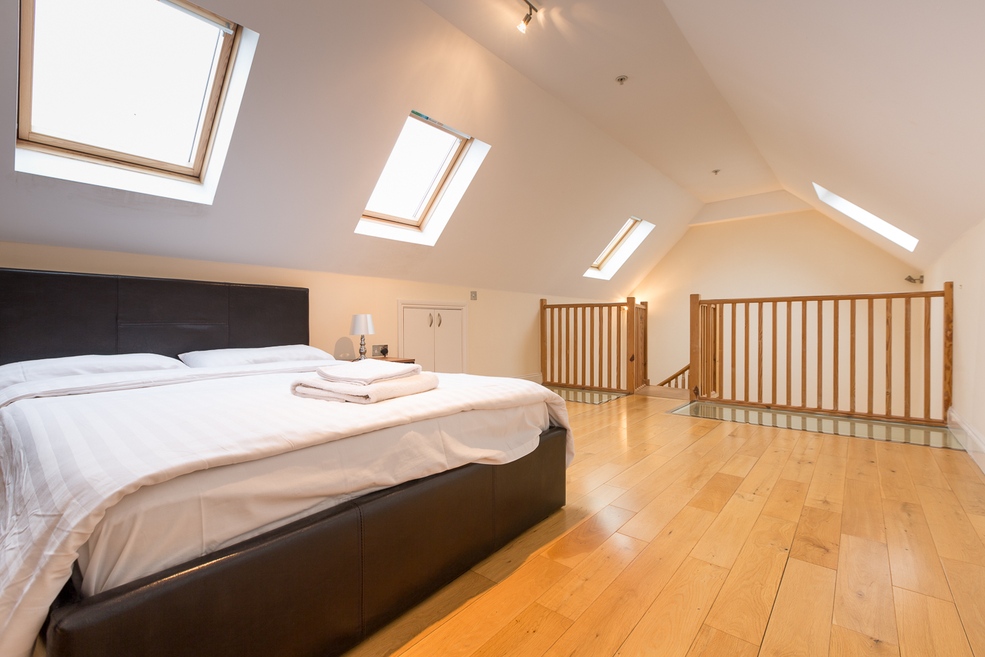 Spacious bedroom at Castle Mews Apartment, Centre, Bedford - Citybase Apartments