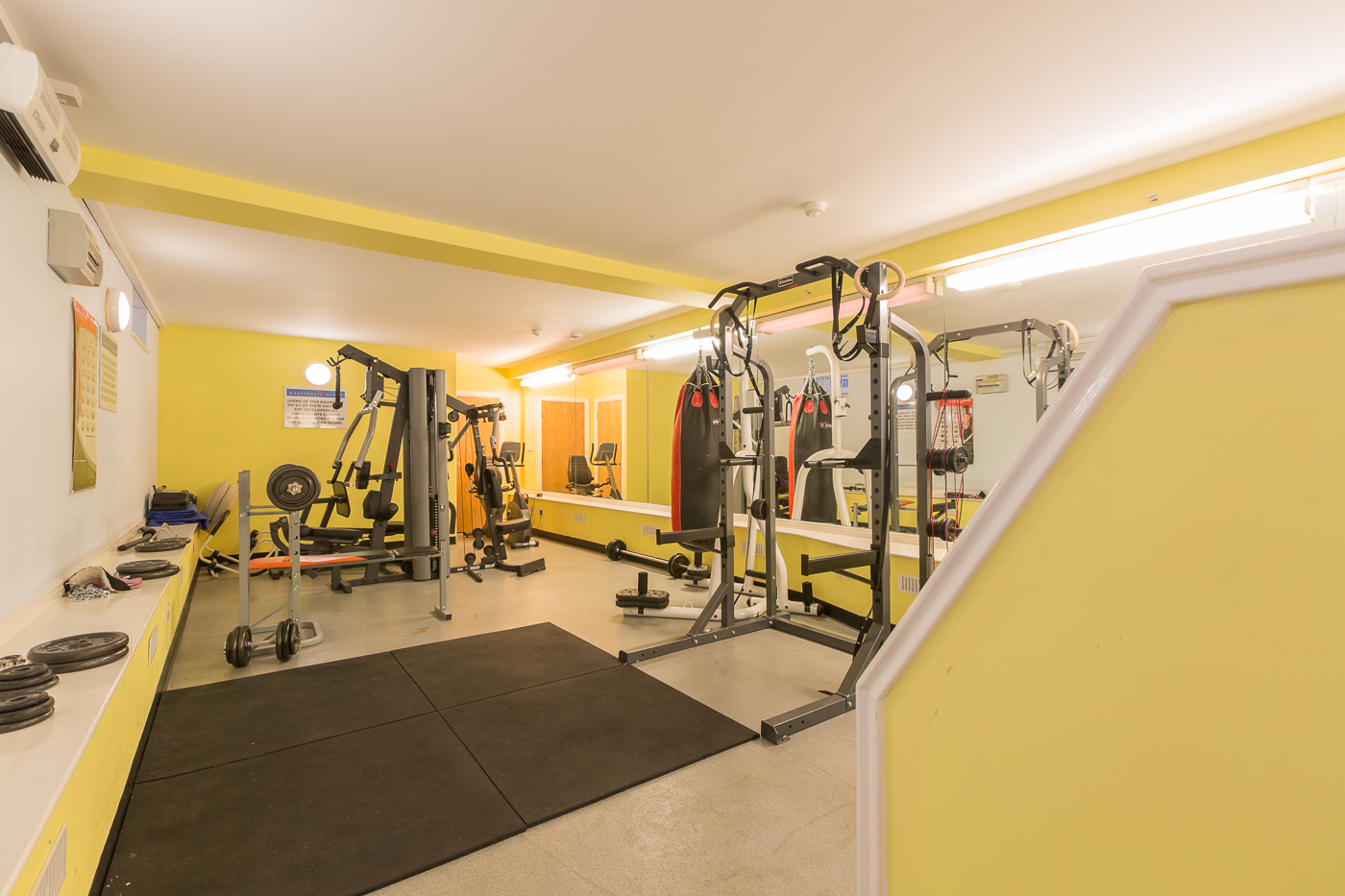 Fitness centre at Castle Mews Apartment, Centre, Bedford - Citybase Apartments