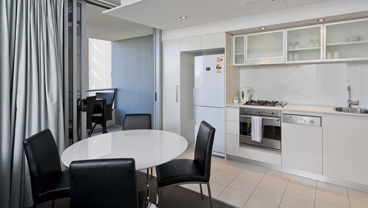 Kitchen in 1 bed at Mantra on the Quay - Citybase Apartments