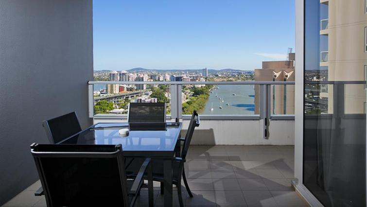 Balcony in 1 bed at Mantra on the Quay - Citybase Apartments