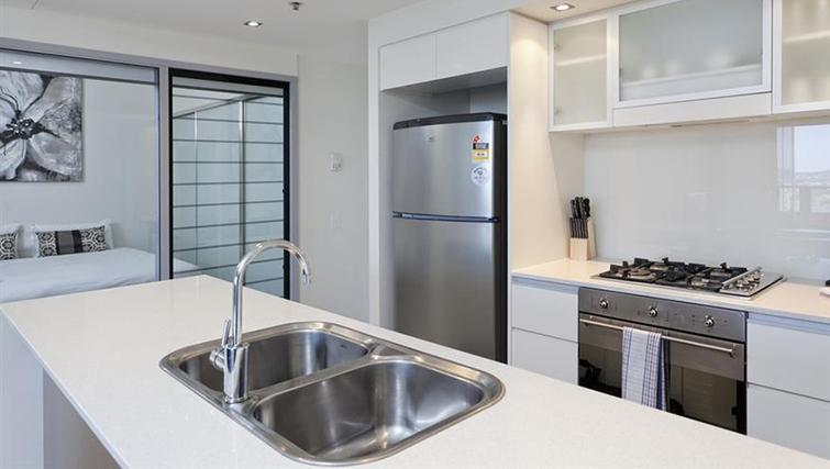 Kitchen in 2 bed at Mantra on the Quay - Citybase Apartments