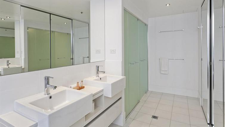 Bathroom in 3 bed at Mantra on the Quay - Citybase Apartments