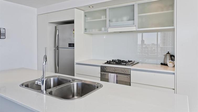 Kitchen in 3 bed at Mantra on the Quay - Citybase Apartments