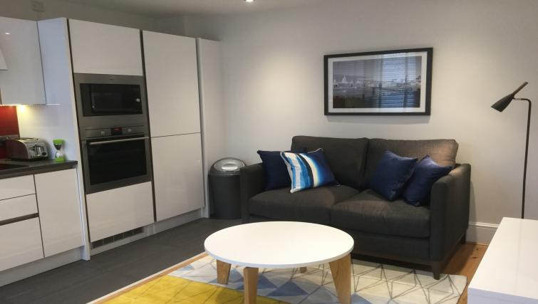 Living space at Clarendon Burleigh Mansions - Citybase Apartments