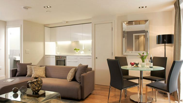 Kitchen/dining area at Fraser Residence City London - Citybase Apartments