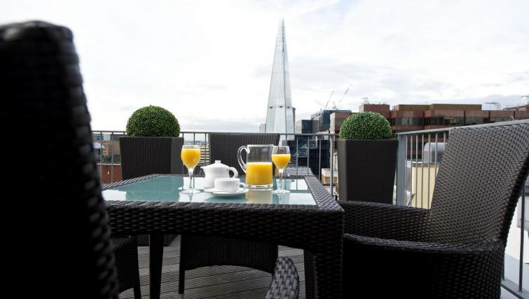 Terrace at Fraser Residence City London - Citybase Apartments