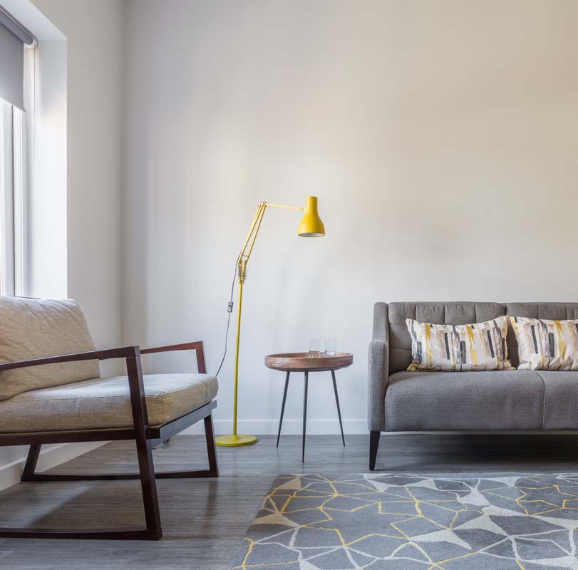 Living area at Saco Bath – St James's Parade - Citybase Apartments