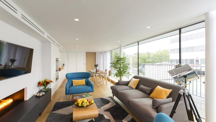 Lounge at Holborn by Q Apartments - Citybase Apartments
