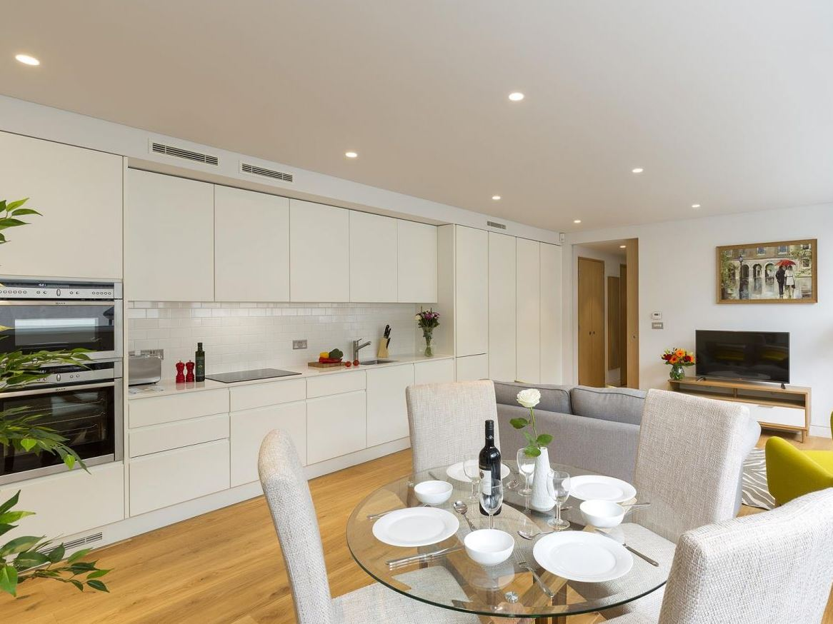 Kitchen at Holborn by Q Apartments - Citybase Apartments