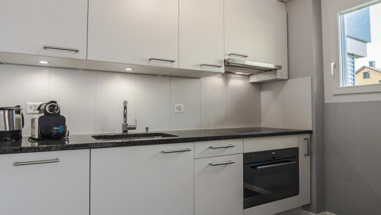 Kitchen at Gujerstrasse Apartments - Citybase Apartments