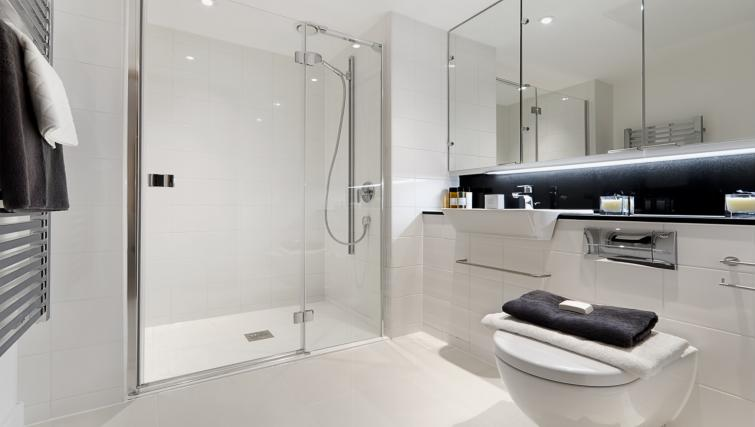 Bathroom at Fetter Lane by Q Apartments - Citybase Apartments