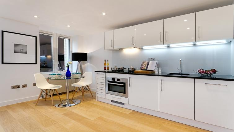 Kitchen at Fetter Lane by Q Apartments - Citybase Apartments