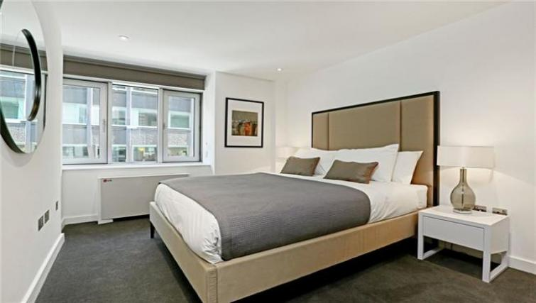 Bedroom at Fetter Lane by Q Apartments - Citybase Apartments