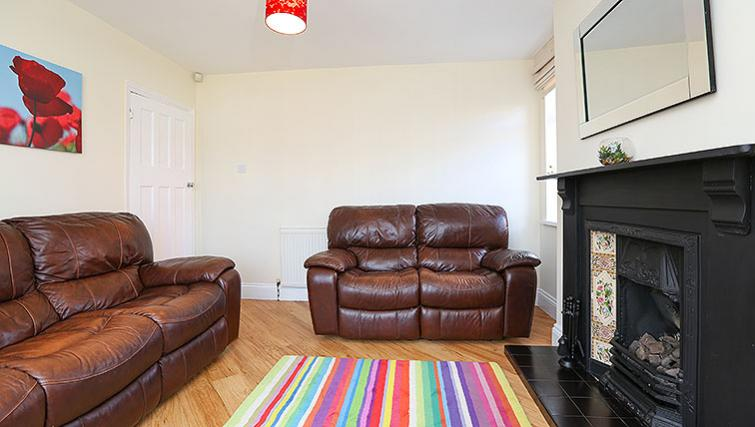 Living area at Coundon House - Citybase Apartments
