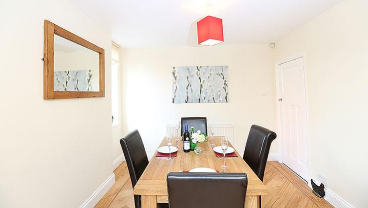 Dining area at Coundon House - Citybase Apartments
