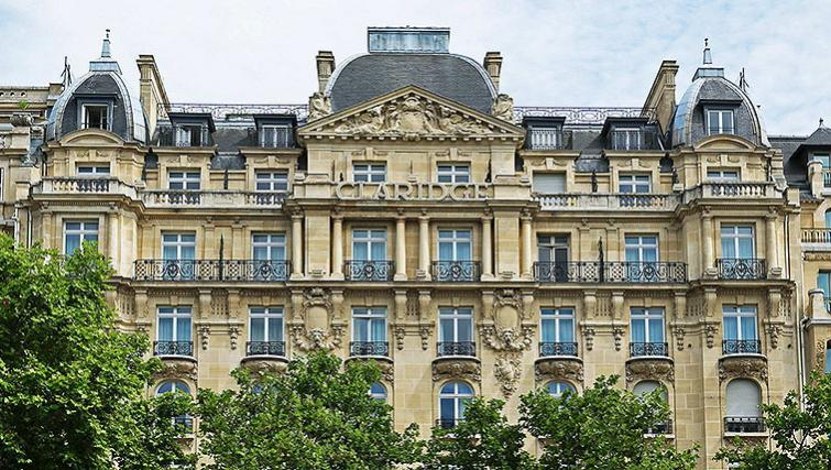 Breathtaking Exterior of Fraser Suites Le Claridge Champs-Elysees - Citybase Apartments