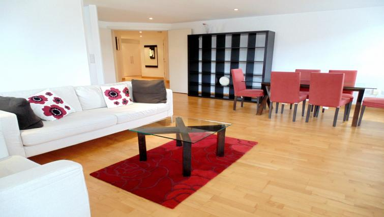 Living area at Still Life Liverpool Street - Citybase Apartments
