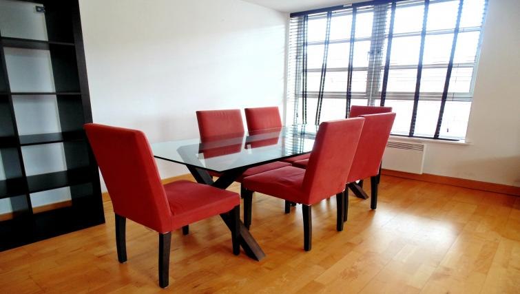 Dining area at Still Life Liverpool Street - Citybase Apartments