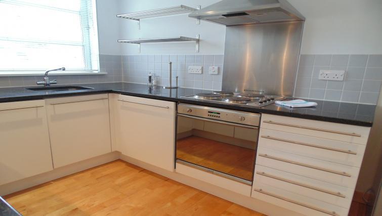 Kitchen at Still Life Liverpool Street - Citybase Apartments