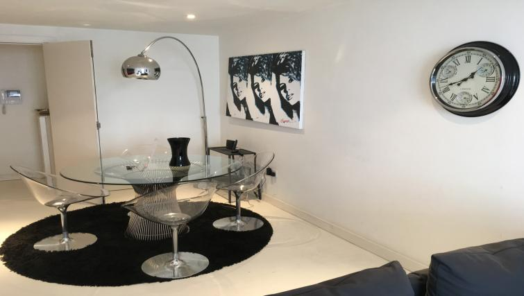 Modern dining space at Still Life Liverpool Street - Citybase Apartments