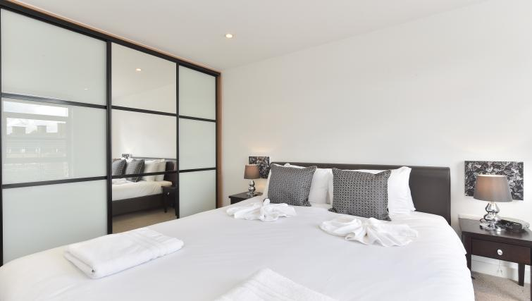 Bedroom at Still Life Liverpool Street - Citybase Apartments