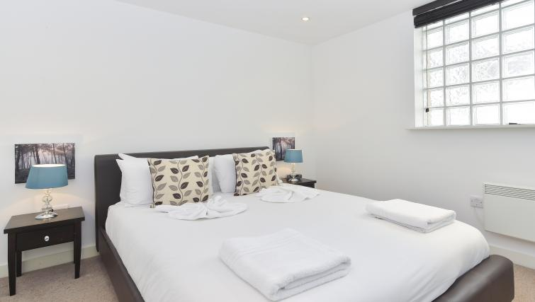 Bed at Still Life Liverpool Street - Citybase Apartments