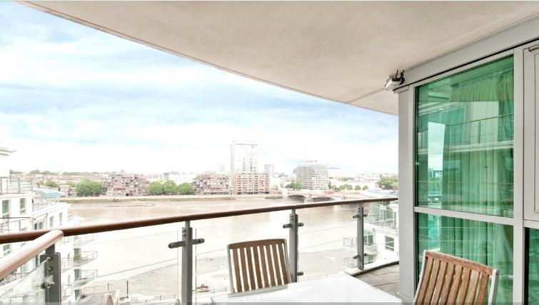 Balcony at Still Life Vauxhall - Citybase Apartments