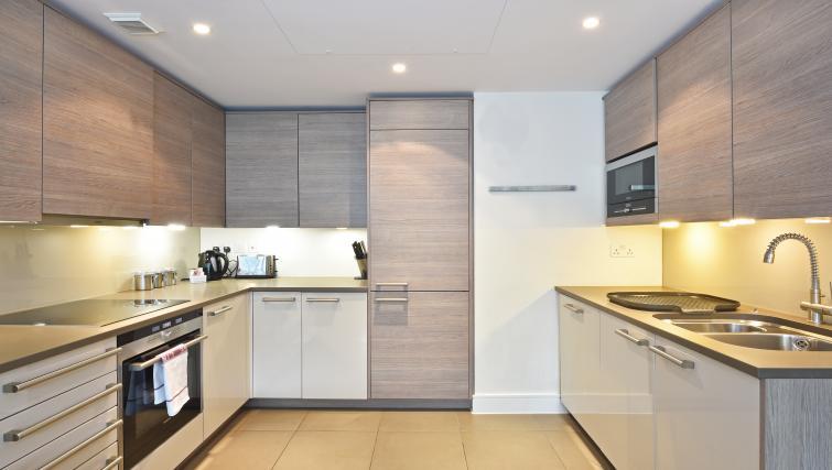 Kitchen at Still Life Vauxhall - Citybase Apartments