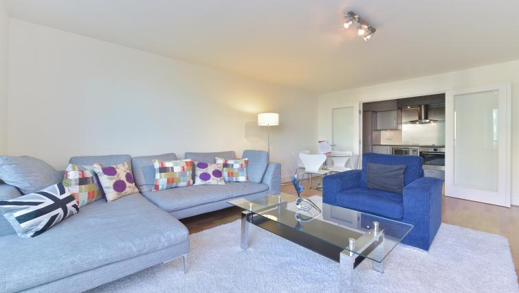 Homely living area at Still Life Vauxhall - Citybase Apartments
