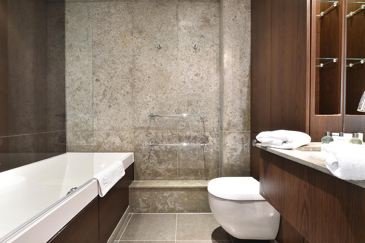 Bathroom at Still Life Vauxhall, Vauxhall, London - Citybase Apartments