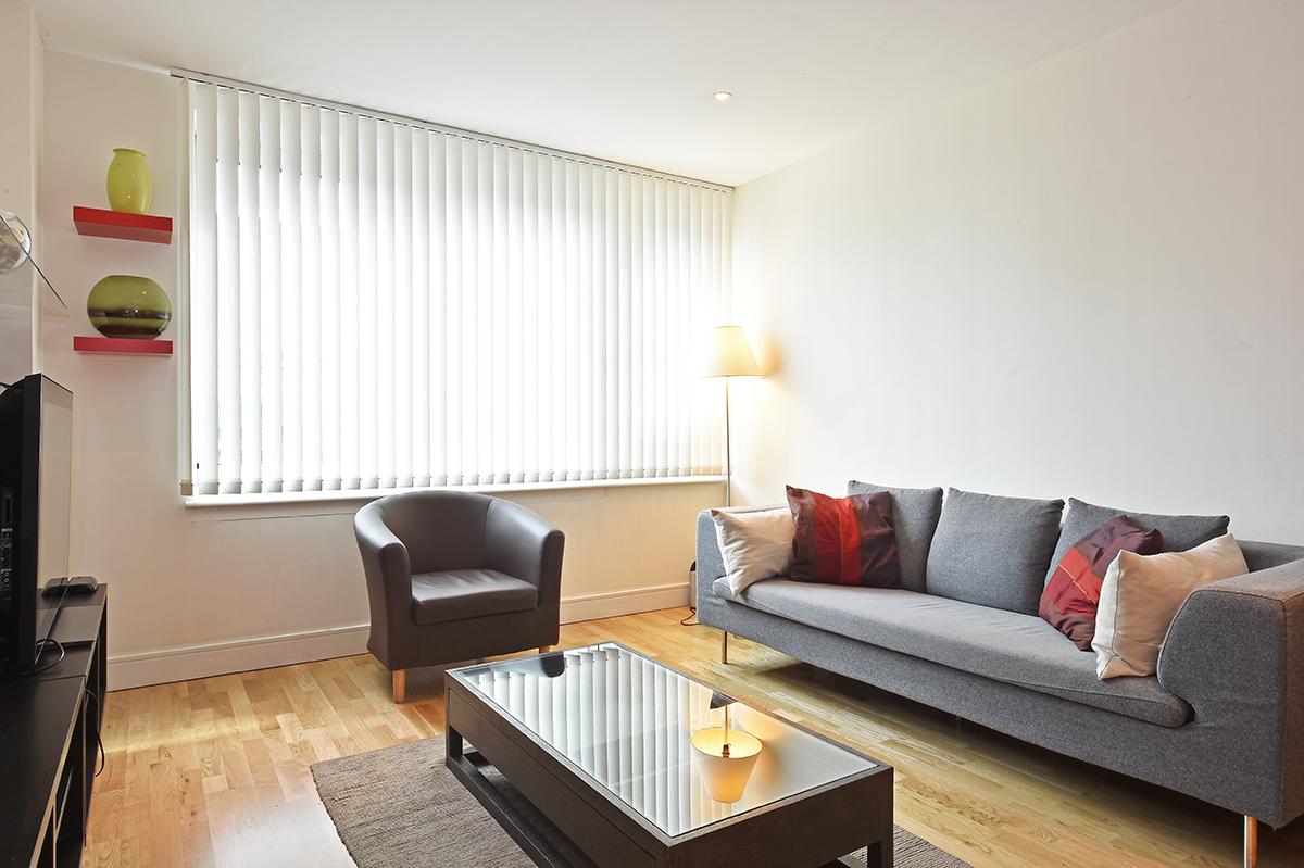 Seating area at Still Life Vauxhall, Vauxhall, London - Citybase Apartments