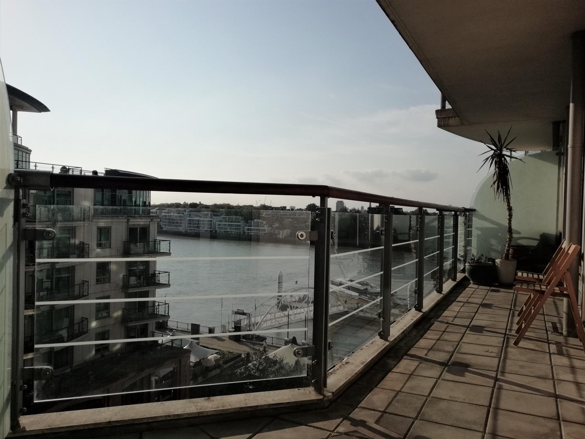 Outdoor balcony at Still Life Vauxhall, Vauxhall, London - Citybase Apartments