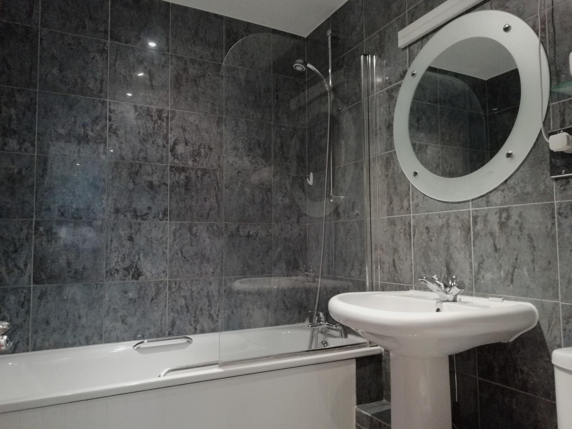 Bath at Still Life Vauxhall, Vauxhall, London - Citybase Apartments