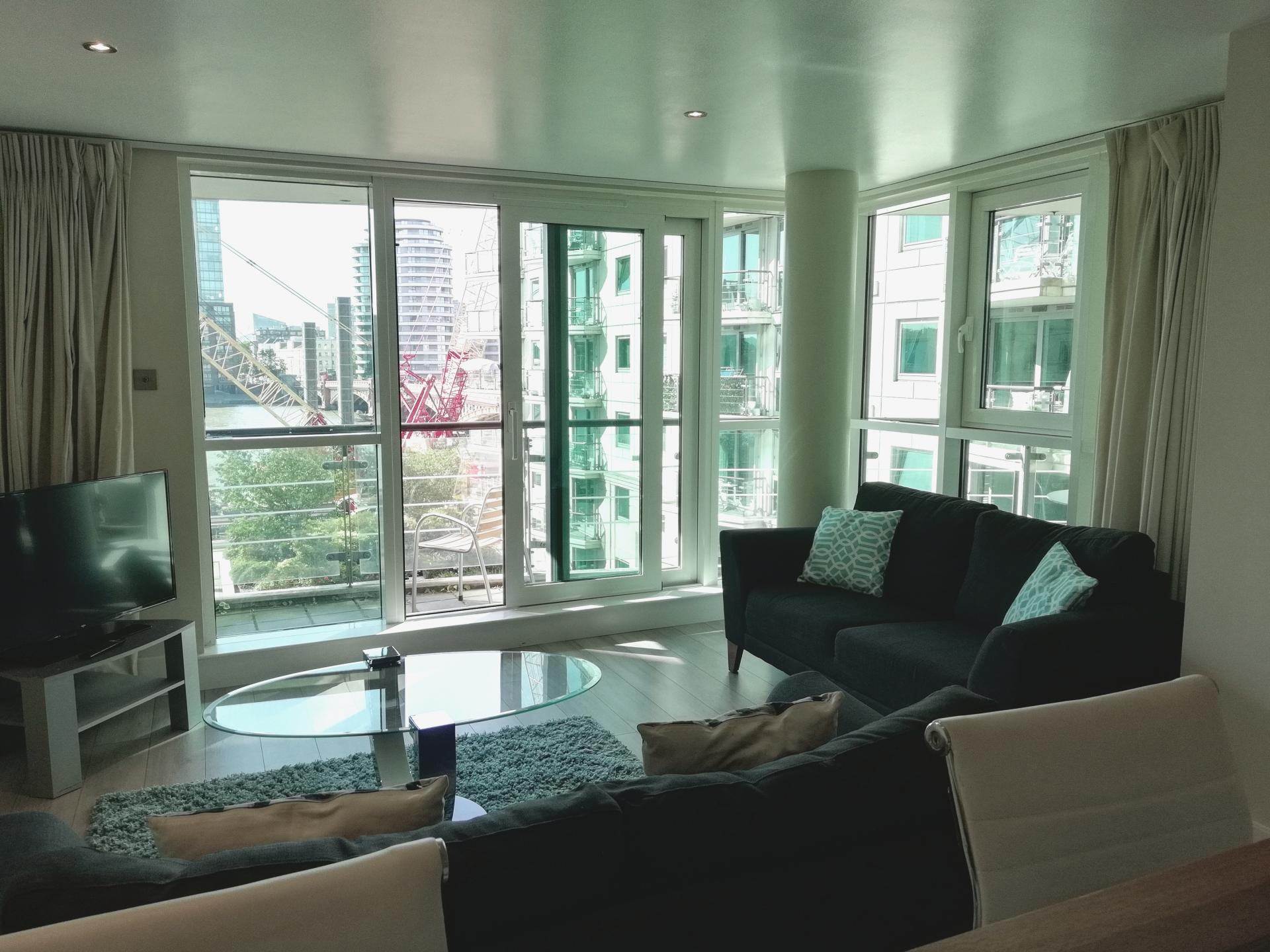 Sofa at Still Life Vauxhall, Vauxhall, London - Citybase Apartments