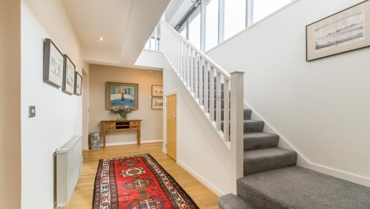 Stairs at Stonegate Court Apartment - Citybase Apartments