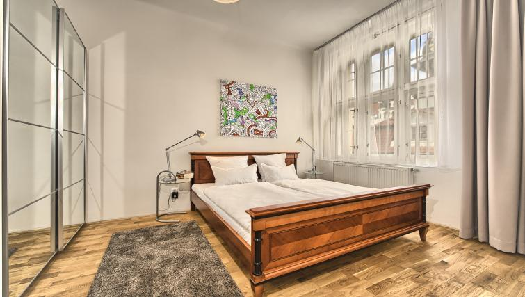 Bedroom at Apartments Maiselova 17 - Citybase Apartments