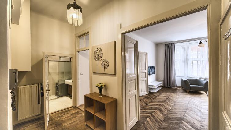 Hallway at Apartments Maiselova 17 - Citybase Apartments