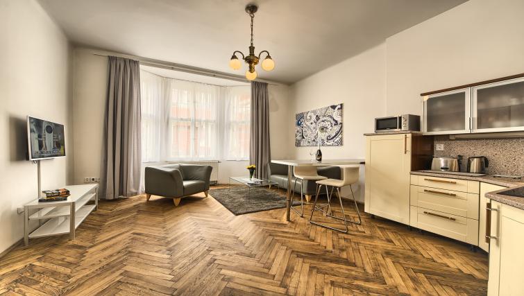 Kitchen at Apartments Maiselova 17 - Citybase Apartments