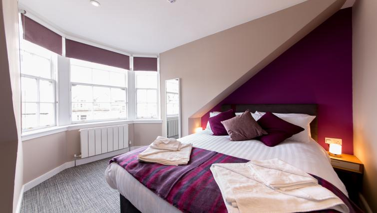 Bedroom at The Spires Edinburgh - Citybase Apartments