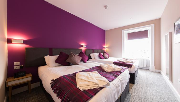 2 beds at The Spires Edinburgh - Citybase Apartments