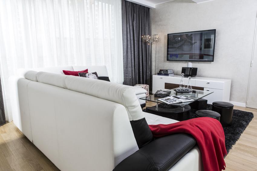 Sofa at Villa Marilyn Apartments - Citybase Apartments