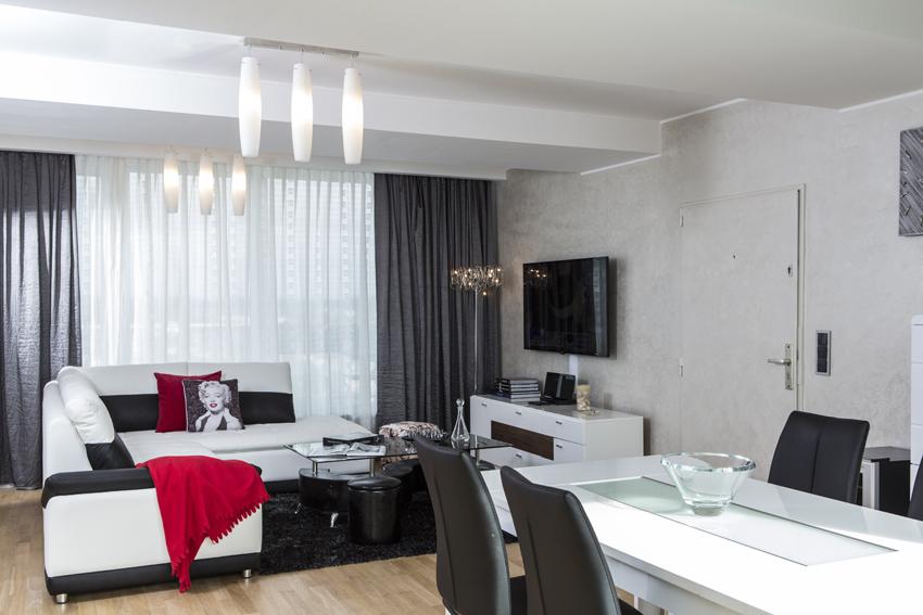 Living room at Villa Marilyn Apartments - Citybase Apartments