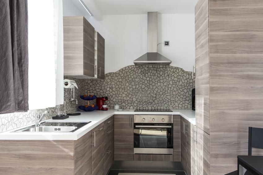 Kitchen facilities at Villa Marilyn Apartments - Citybase Apartments